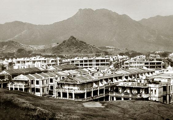九龍城的戰前唐樓